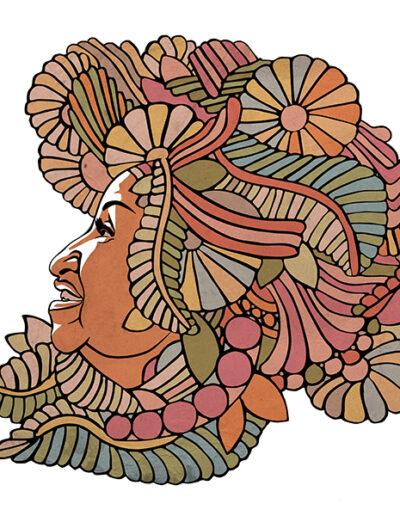 Celia Cruz by Karoll William