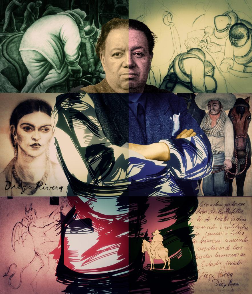 Diego Rivera   Poster Design by Karoll William Visual Arts
