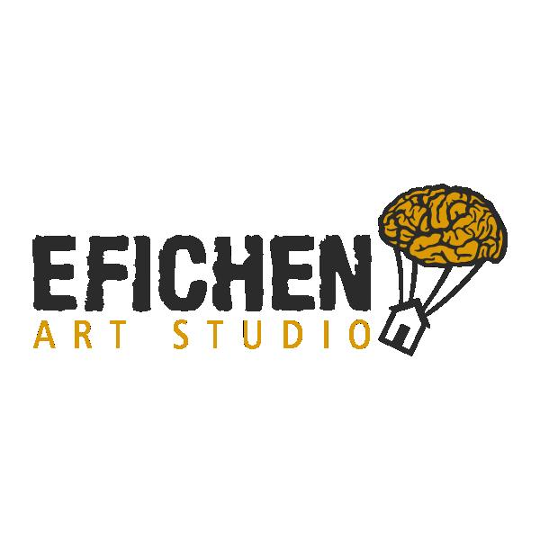 Efichen Art Studio Logo by Karoll William