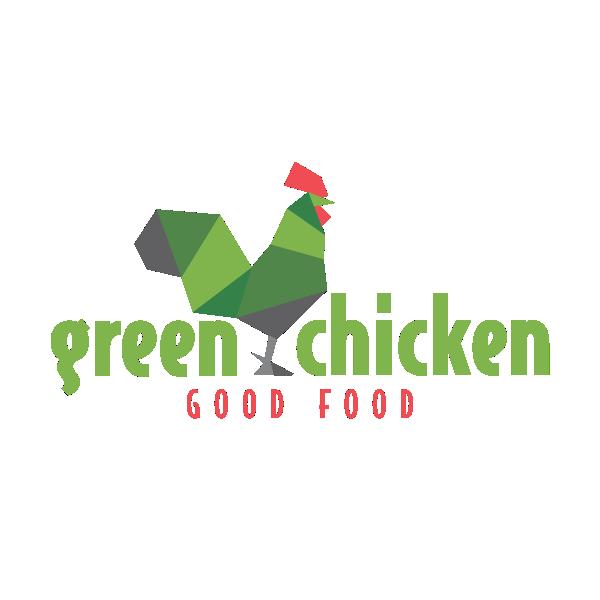 Green Chicken Logo by Karoll William