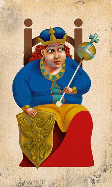 The Empress | La Emperatriz | Kalma Tarot | By Karoll William