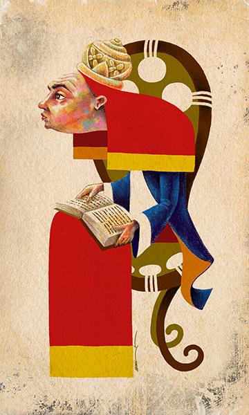 The High Priestess | La Sacerdotiza | Kalma Tarot | By Karoll William
