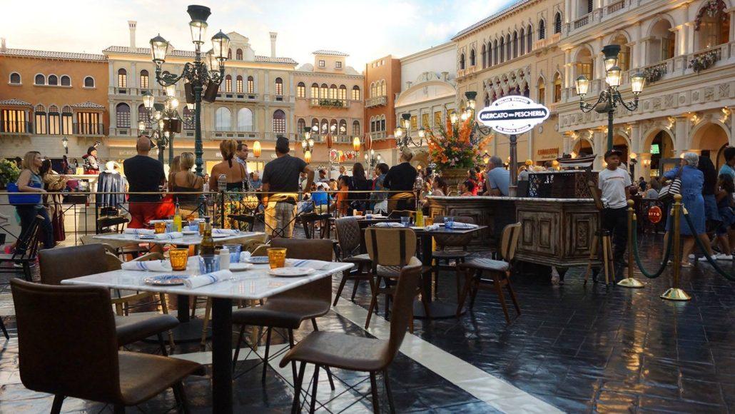 Mercato Della Pescheria at Venetian Resort & Casino   Las Vegas