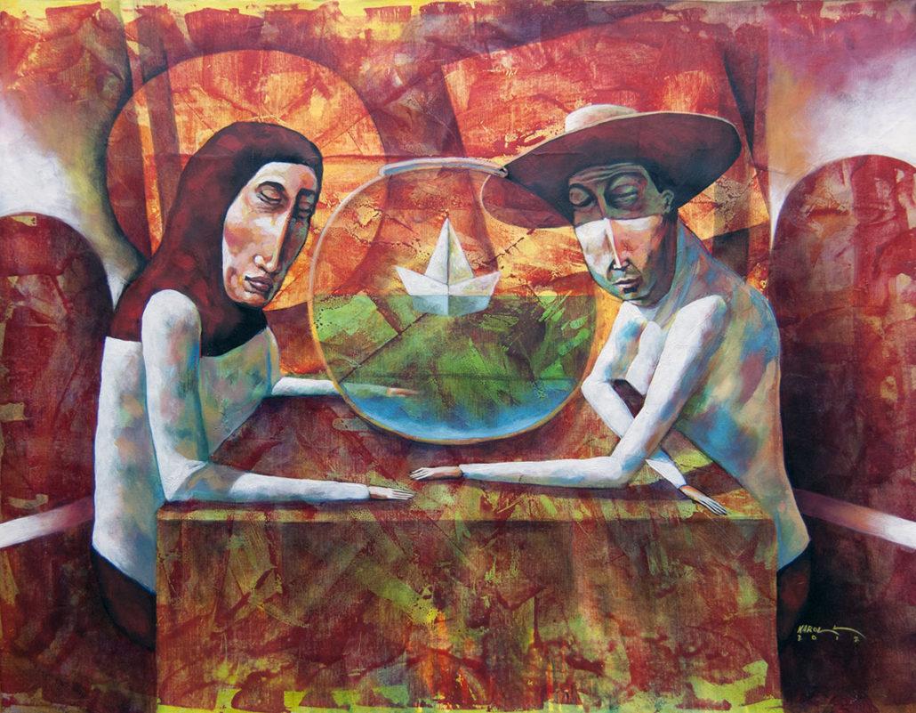 Prayers | Plegarias | Acrylic on Canvas