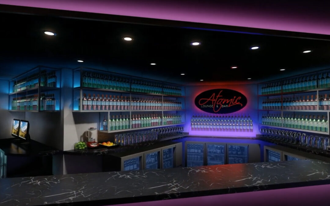 Atomic Lounge & Bar   Interior Design Concept
